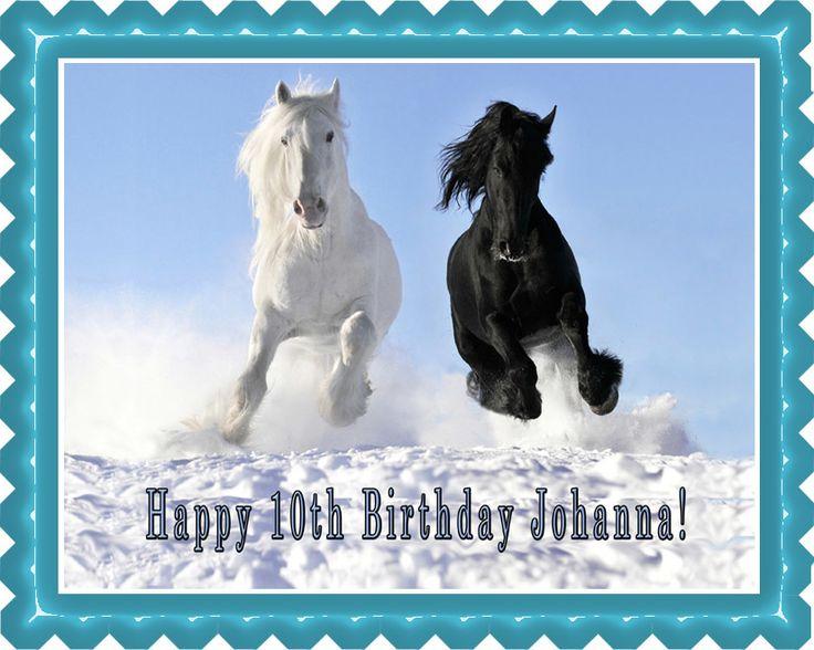 Edible Cake Images Horses : 4640 best Edible Cake Image images on Pinterest Birthday ...