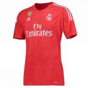 Real Madrid Brankářské Venkovní Dres 17-18 Krátký Rukáv
