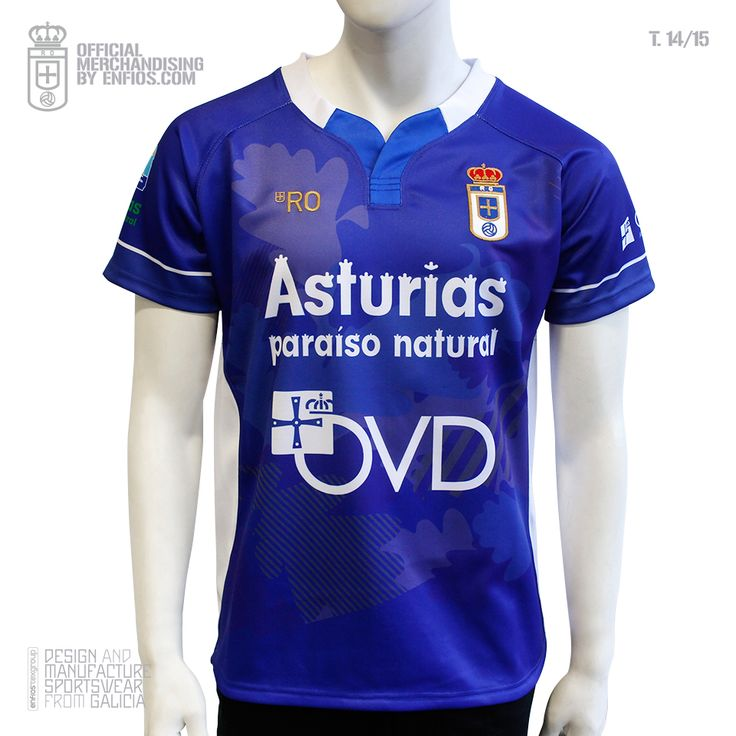Real Oviedo Rugby 1º equipación T.14/15