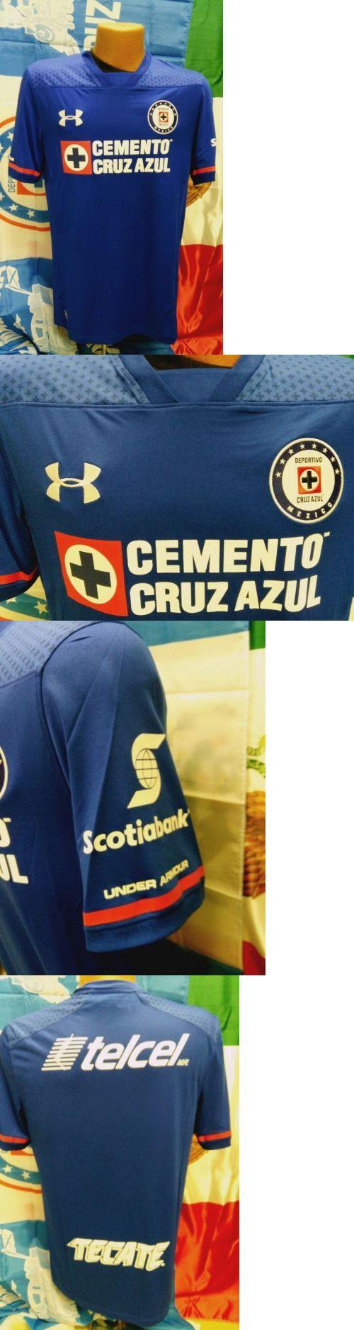 Soccer-International Clubs 2887: Club Deportivo Cruz Azul Under Armour Jersey 2017 18 -> BUY IT NOW ONLY: $90 on eBay!