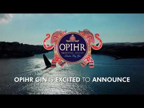 ATR & Opihr Gin partnership announcement.