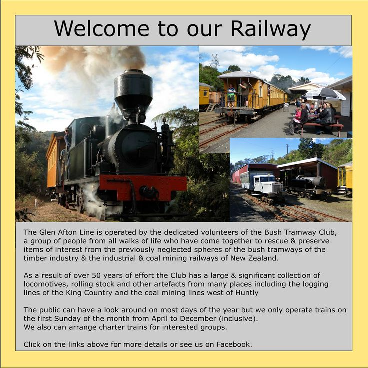 The Bush Tramway Club - Index page