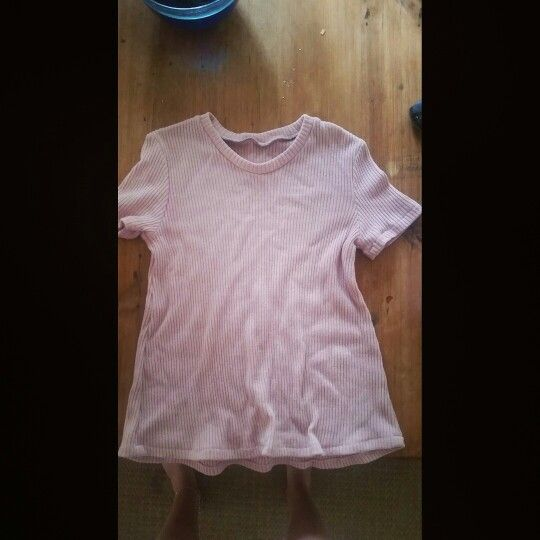 Wool pink top !