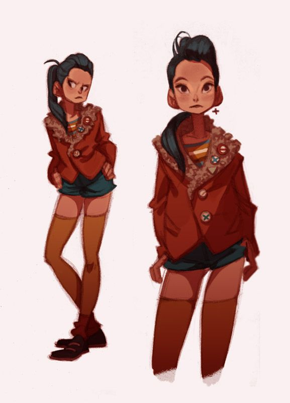 Character Design Styles : Ideas about female character design on pinterest