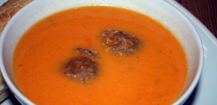 Romige soep van cherrytomaatjes | Lekkere recepten van snelle en gezonde gerechten