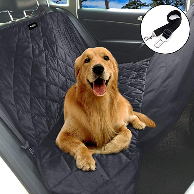 Auelife Pet Seat Cover for Cars f415eed5c