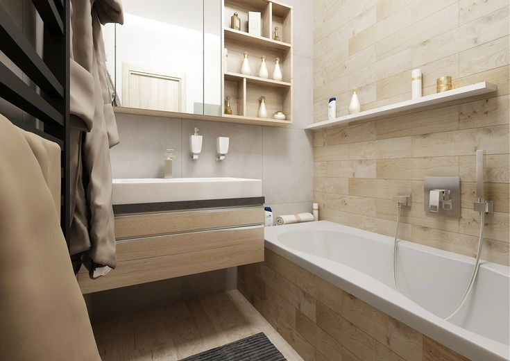 fotorealistická vizualizace koupelny