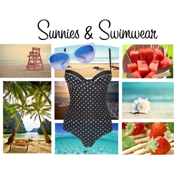"""""""Sunnies & Swimwear Competition"""" by lilrocker-1 on Polyvore"""