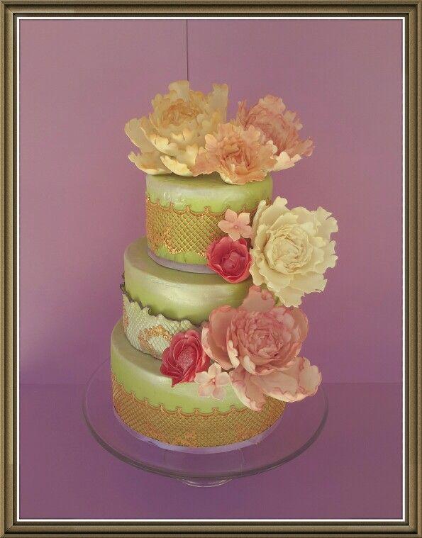 Wedding cake @macachoux 1