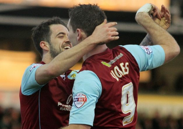 Strike pair Danny Ings and Sam Vokes are odds on to become the most prolific Burnley duo in a generation.