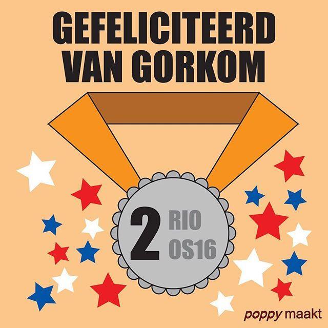As Seen On Insta: All the medals  Gefeliciteerd @JelleVanGorkom met het winnen van zilver!  Congratulations Jelle van Gorkom on winning silver!  #PoppyMaakt #Rio2016 #Rio #Brazilië #Brazil #Olympics #Olympic #RioOlympics2016 #BMX #Bike #Fiets #NED #TeamNL #Holland #Dutch #Nederland #Jelle #Gorkom #Silver #Zilver #Like #Follow #L4L #InstaGood #InstaLike #InstaOlympics