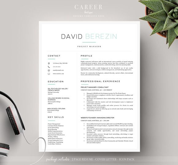 Combination Resume Sample The  Best Images About Resume Templates Boutique On Pinterest Teacher Skills Resume Excel with Objective In A Resume Excel Modern Resume  Coverletter Template Resume For College Word