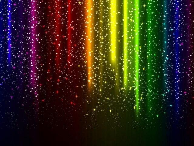 Rainbow stars Rainbow wallpaper, Colorful abstract art