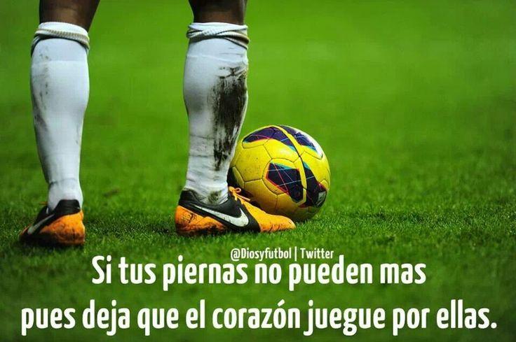 Fútbol, juega con el corazón♡