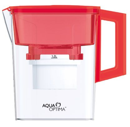 Red 2.1 Litre Compact Jug  http://www.aqua-optima.co.za/products/red-21l-compact-jug-amf002r