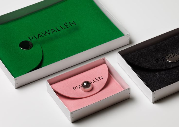 Visual identity and packaging for Pia Wallén designed by The Studio.