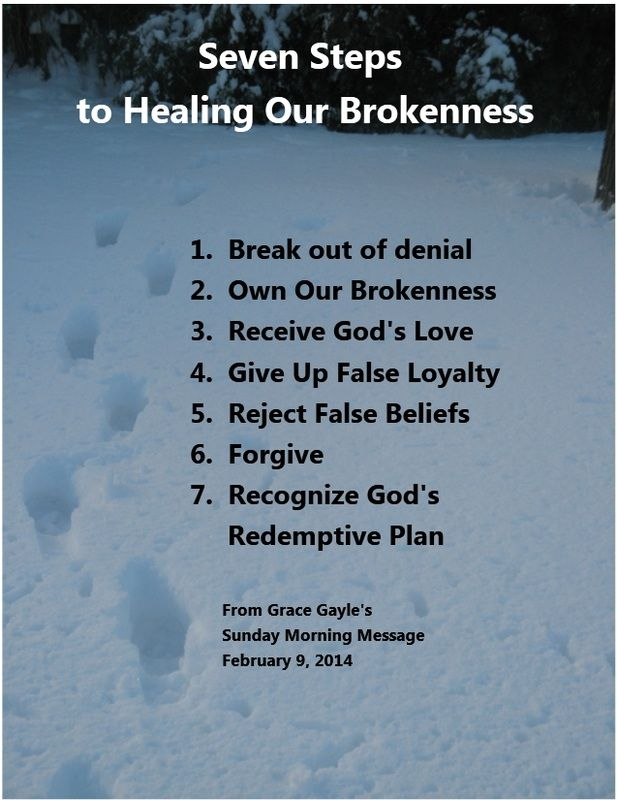 Encouraging Words - Healing Our Brokenness | Inspirational ...