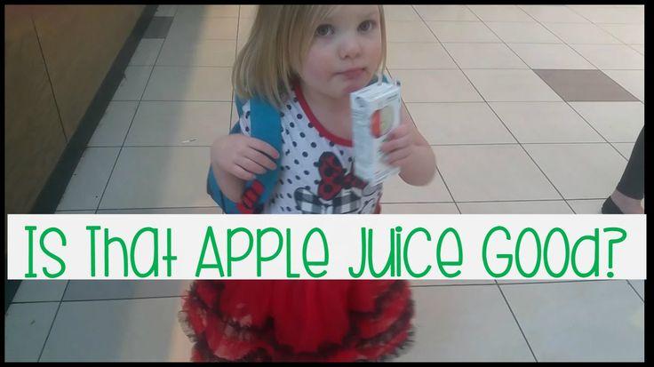 Is That Apple Juice Good? | 03-14-16 | Vlog 070