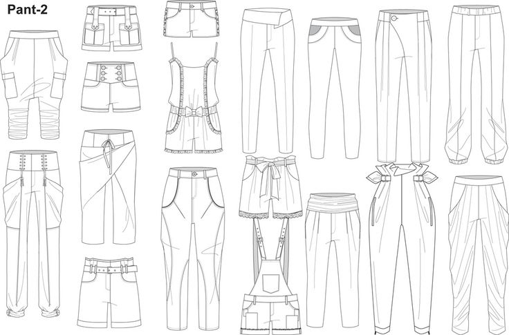 Illustrator fashion templates home sketches flats for Clothing templates for illustrator