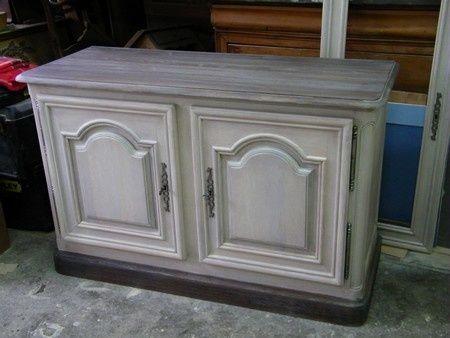 Les 25 meilleures id es de la cat gorie peindre des meubles en ch ne sur pint - Peindre un meuble en chene massif ...