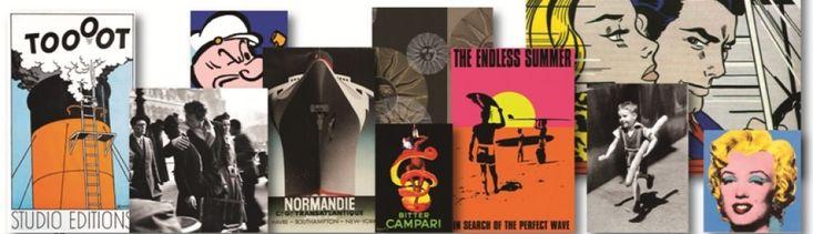 limagesurlemur | Un condensé d'images classiques ! Des histoires de posters et de décoration murale, des années soixante à nos jours.