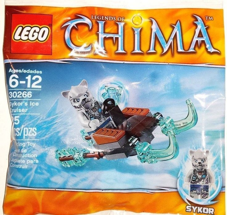 Lego Chima 30266 Sykor's Ice Cruiser Promo Pack New/Sealed!! 2014  25pcs  #LEGO