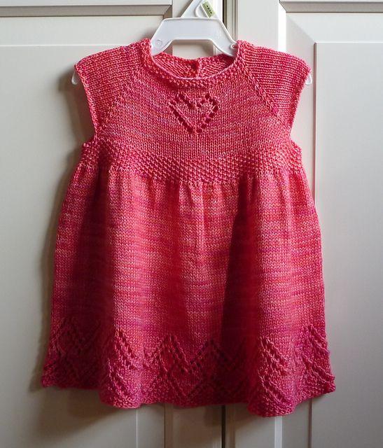 Helen Joyce Dress by Taiga Hilliard Designs. malabrigo Sock in Light of Love