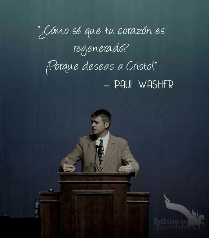 Quote/ Paul Washer