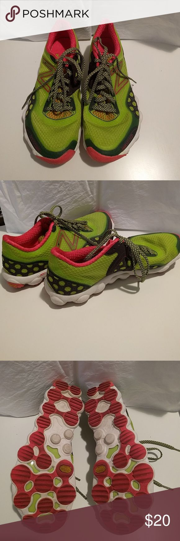 New Balance Minimus trail shoes Bright green trail running shoes. New Balance Shoes Athletic Shoes