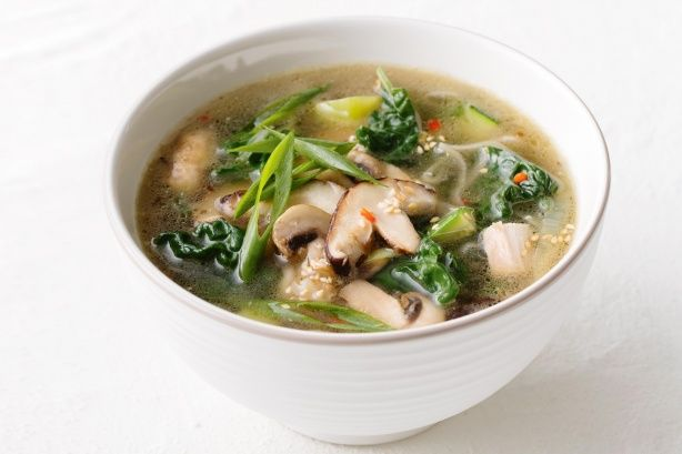 Eat your way to better health with this Asian chicken soup.