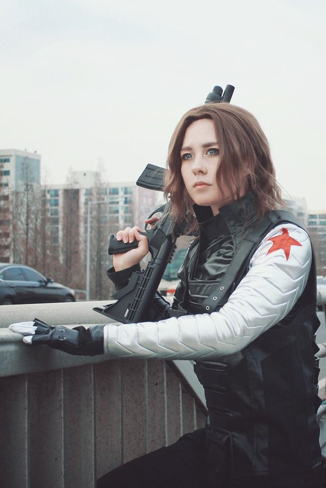 Diddy(손여울) Winter Soldier Cosplay Photo - Cure WorldCosplay