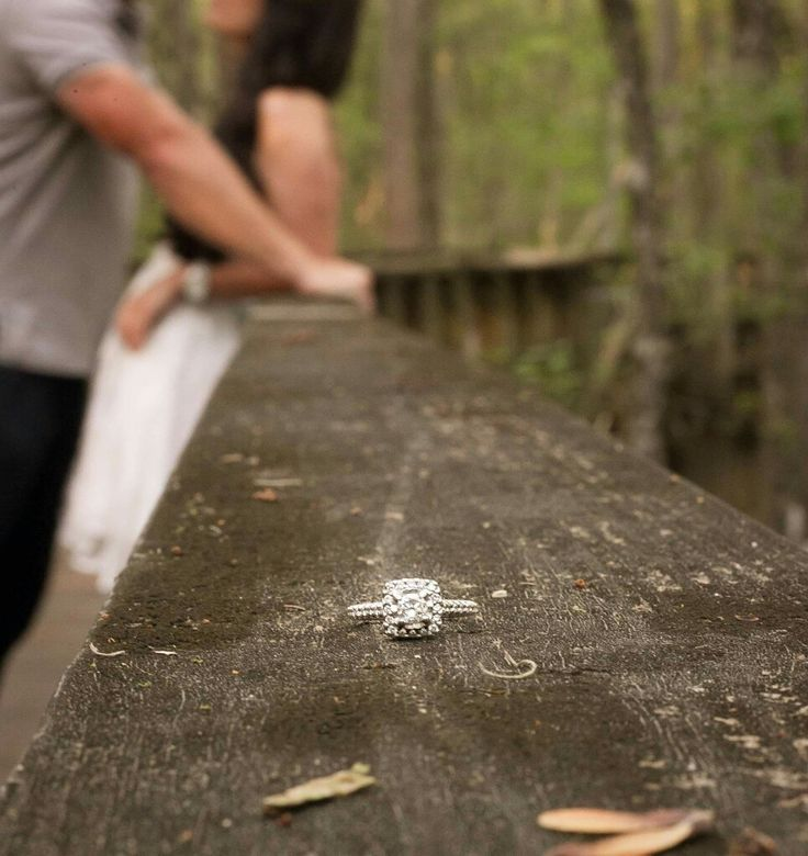 Engagement ring photo ideas rustic More
