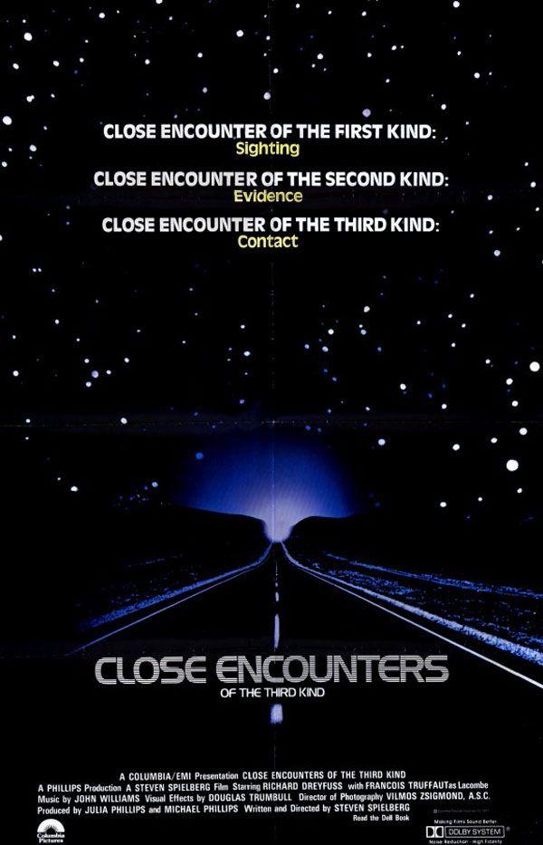 Contatos Imediatos de Terceiro Grau (Close Encounters of the Third Kind, Steven Spielberg)