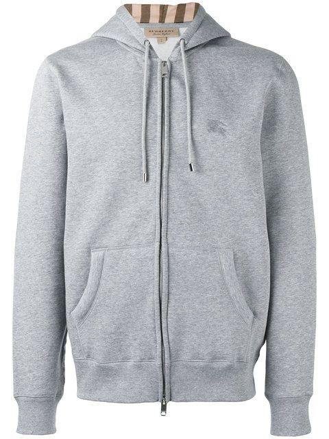 Burberry zip-up hoodie