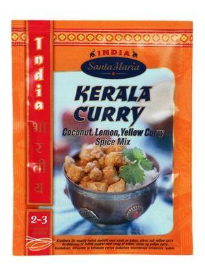 przyprawa do Kerala Curry   • mieszanka odpowiednich przypraw • nuta żółtego curry, kokosa i cytryny  • idealna do Indyjskich potraw • doskonała przyprawa do curry