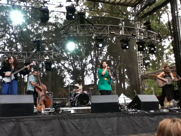 Be Good Tanyas at the Outside Lands Festival in San Francisco