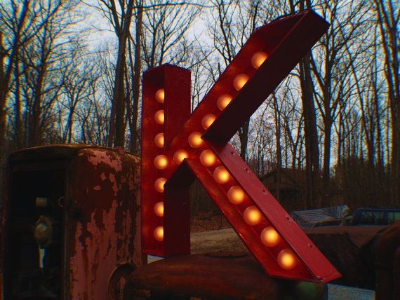 K marquee letter: Large Movie, Marquee Art, Vintage Marquee, Movie Theater, Marquee Letters, Movie Theatre, Theatre Letters, Vintage Movie, Theater Vintage