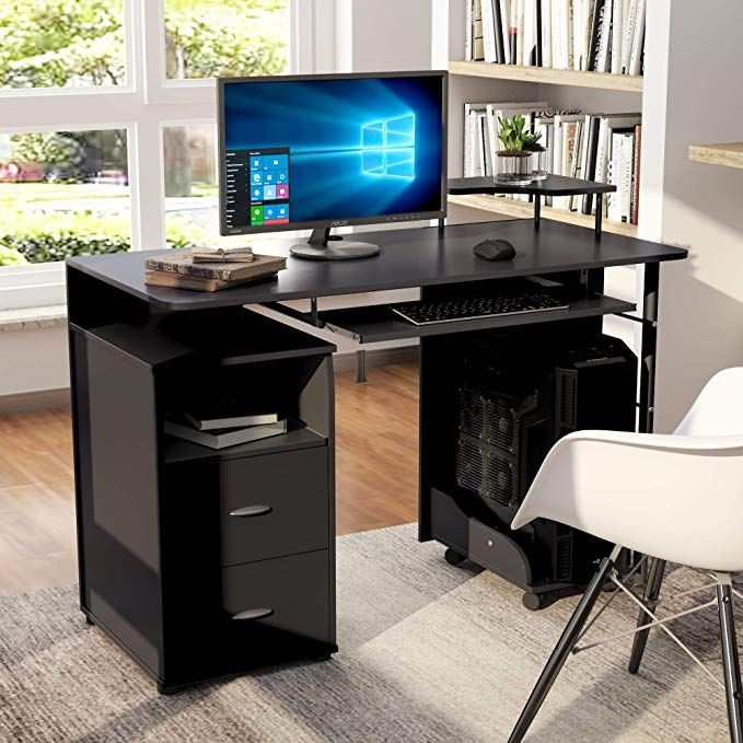 Computer Desk With Drawers Home Office Desk Computer Workstation