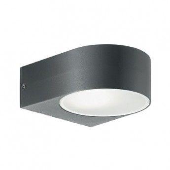 Lampy ogrodowe - abanet.pl Iko AP1 - Ideal Lux - kinkiet zewnętrzny  #oświetlenie #ogród #lampy #design #ideal_lux #Kraków