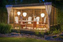 Ovaler Tisch / für Außenbereich / Garten / für Innenbereich