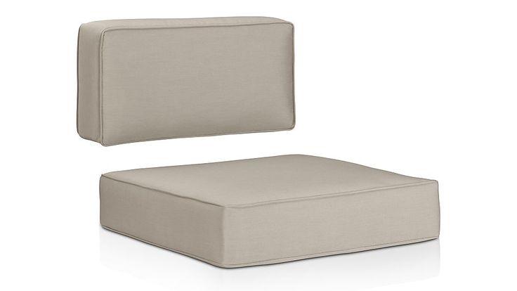 "Ventura Sunbrella ® Modular/Lounge Chair CushionsOverall Dimensions Width: 28"" Depth: 27"" Height: 6"" Back Width: 28"" Depth: 13"" Height: 5"""