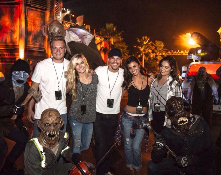 Derek, Bethany, Lindsay, Hayley Universal Hollywood Horror nights