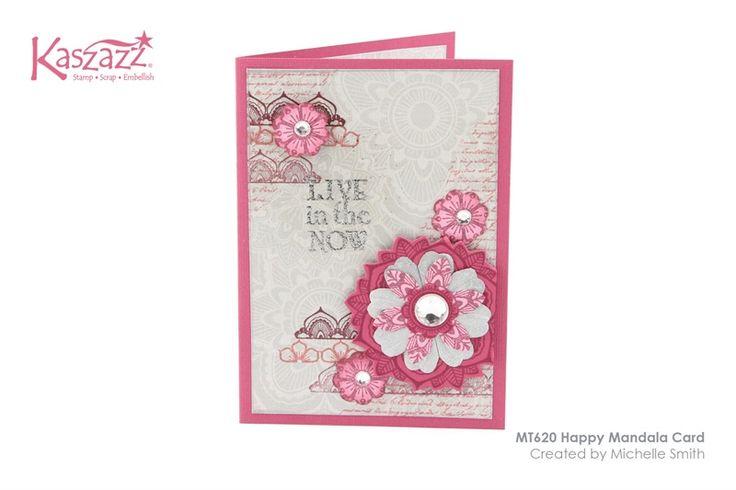 MT620 Happy Mandala Card