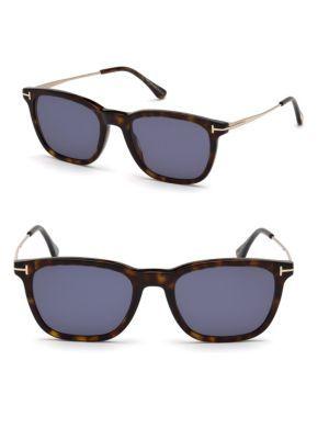 90dbf57233e51 TOM FORD Geometric 53MM Square Sunglasses.  tomford