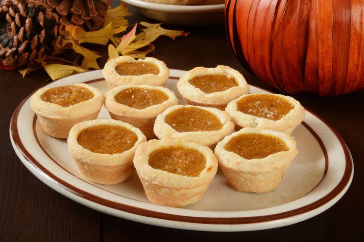 Mini Pecan Pumpkin Pies - Joy of Kosher