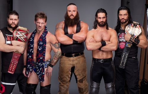 Roman Reigns Seth Rollins Kevin Owens Chris Jericho & Braun Strowman Photo WWE - http://bestsellerlist.co.uk/roman-reigns-seth-rollins-kevin-owens-chris-jericho-braun-strowman-photo-wwe/