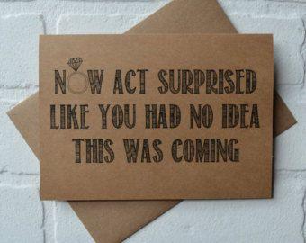 U zult mijn MAID OF HONOR kaart van invitesbythisandthat op Etsy