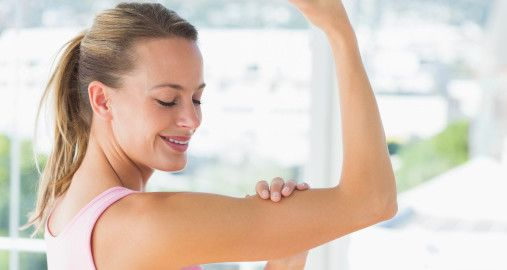 How to Tone Your Arms Without Lifting Weights!