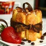 Rich creamy Tiramisu, made with mascarpone cheese, espresso and rum! This recipe makes perfect individual servings.