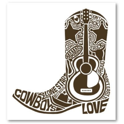 Cowboy Boot Poster http://www.zazzle.com/sony_atv_boot_poster-228854205381597309